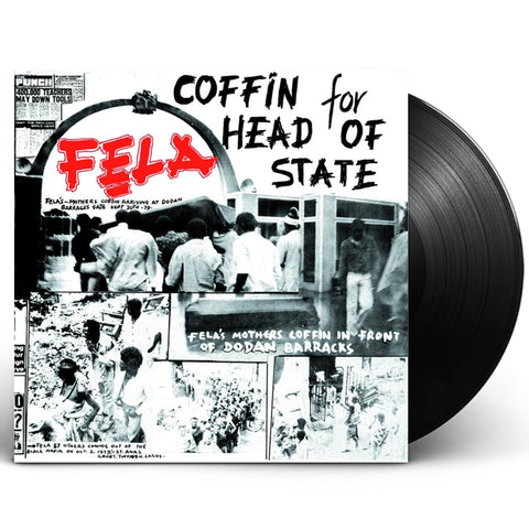 "Fela Kuti ""Coffin For Head of State"" (1980) LP Vinyl"