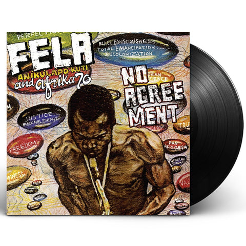 "Fela Kuti ""No Agreement"" (1977) LP Vinyl"
