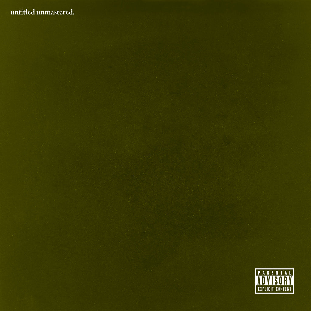 "Kendrick Lamar ""untitled unmastered"" LP 180 Gram Black Vinyl"