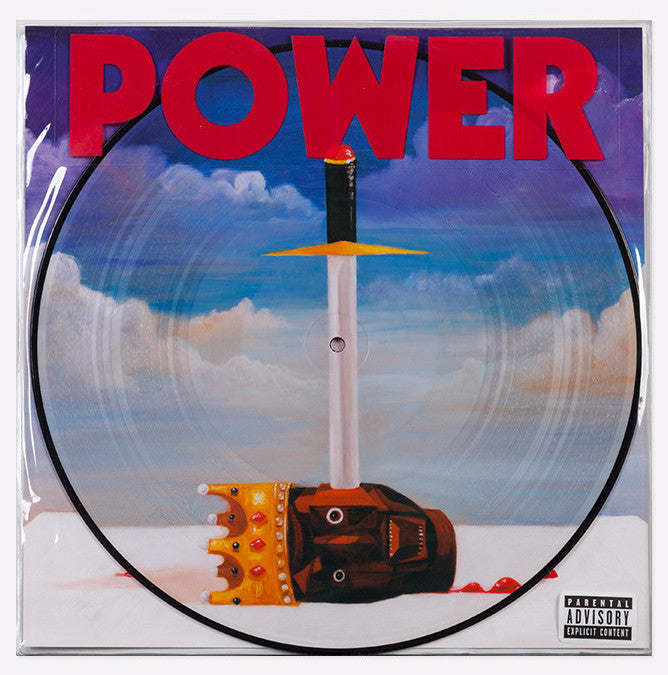 "Kanye West ""Power"" 12"" Picture Disc Vinyl"