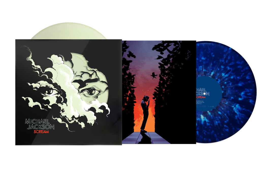 "Michael Jackson ""Scream"" 2xLP Glow-In-The-Dark Vinyl"