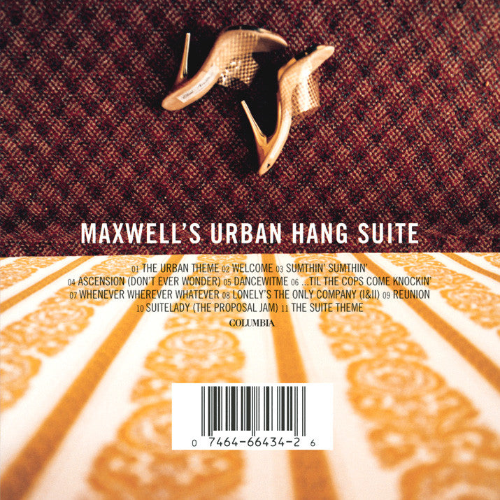 "Maxwell ""Maxwell's Urban Hang Suite"" 20th Anniversary 2xLP Metallic Gold Vinyl"