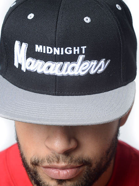 Midnight Marauders Snapback Hat Raiders - Black/Grey