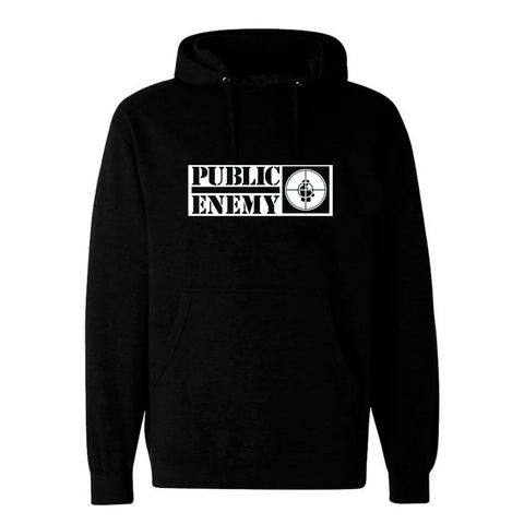 Public Enemy Logo Hooded Sweatshirt