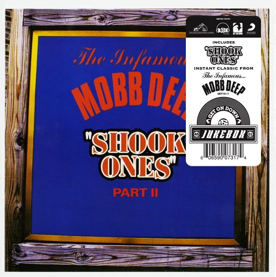 "Mobb Deep ""Shook Ones Part II"" 7"" Vinyl"