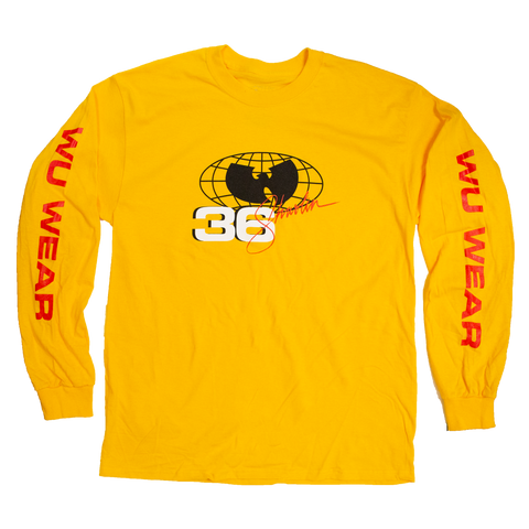 Wu Wear Shaolin Long Sleeve T-Shirt