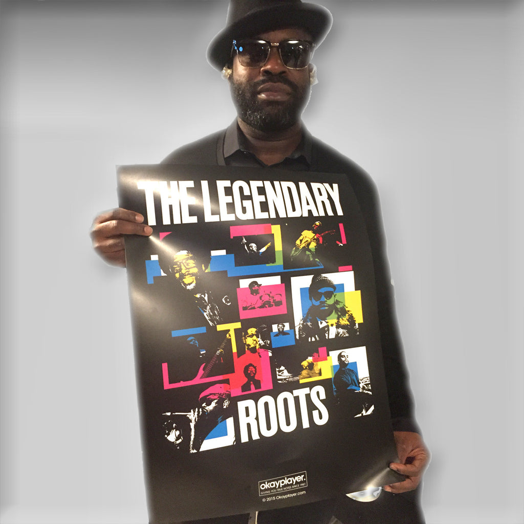 "The Roots ""Legendary Rockers"" Poster"