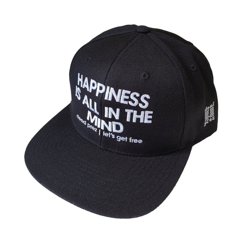 "dead prez ""Happiness Is All In The Mind"" Hat"