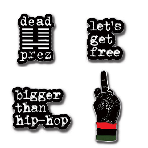 dead prez Pin Set