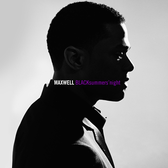 "Maxwell ""BLACKsummers'night"" (2009) LP Metallic Silver Vinyl"