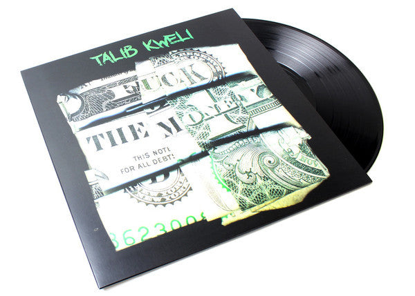 "Talib Kweli ""Fuck the Money"" 2xLP Vinyl with D-side Etching"