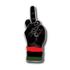 dead prez Middle Finger Enamel Pin