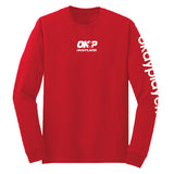 Okayplayer Finisher Long Sleeve T-Shirt - Red