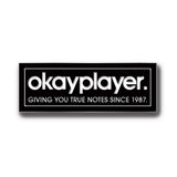 okayplayer Logo Pin