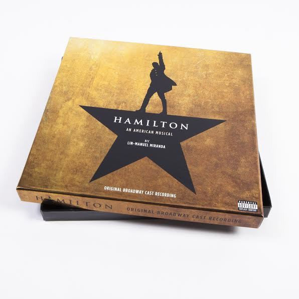 """Hamilton: An American Musical (Original Broadway Cast Recording)"" 4xLP Vinyl"