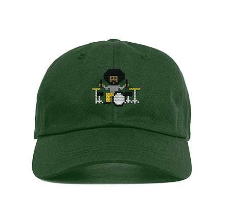 Questlove Holiday Dad Hat [Green]