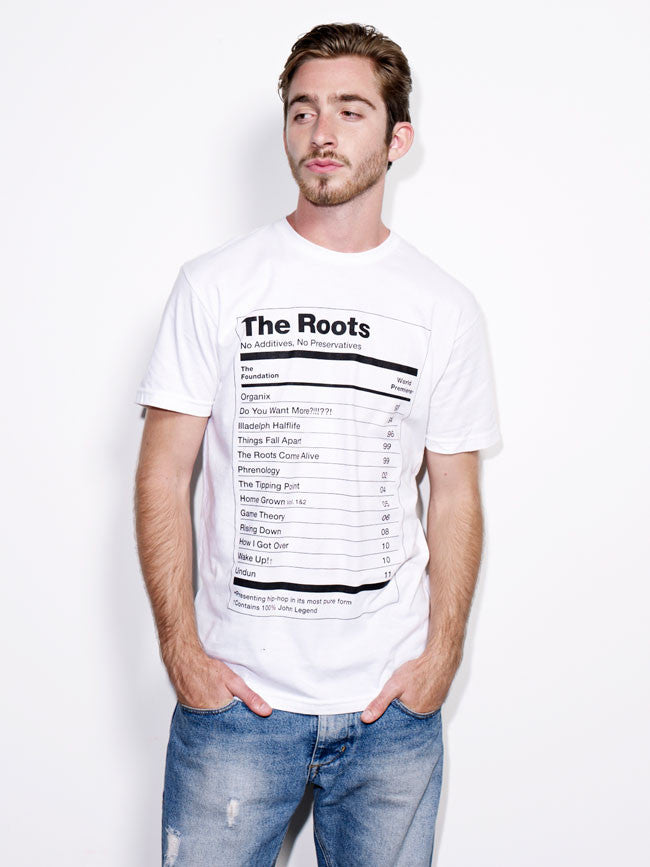 "The Roots ""The Ultimate"" T-Shirt (White)"