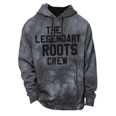 The Legendary Roots Crew Tie-Dye Hooded Sweatshirt [SMALL]