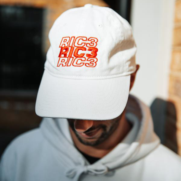 RIC3 Thank You Dad Hat (White)