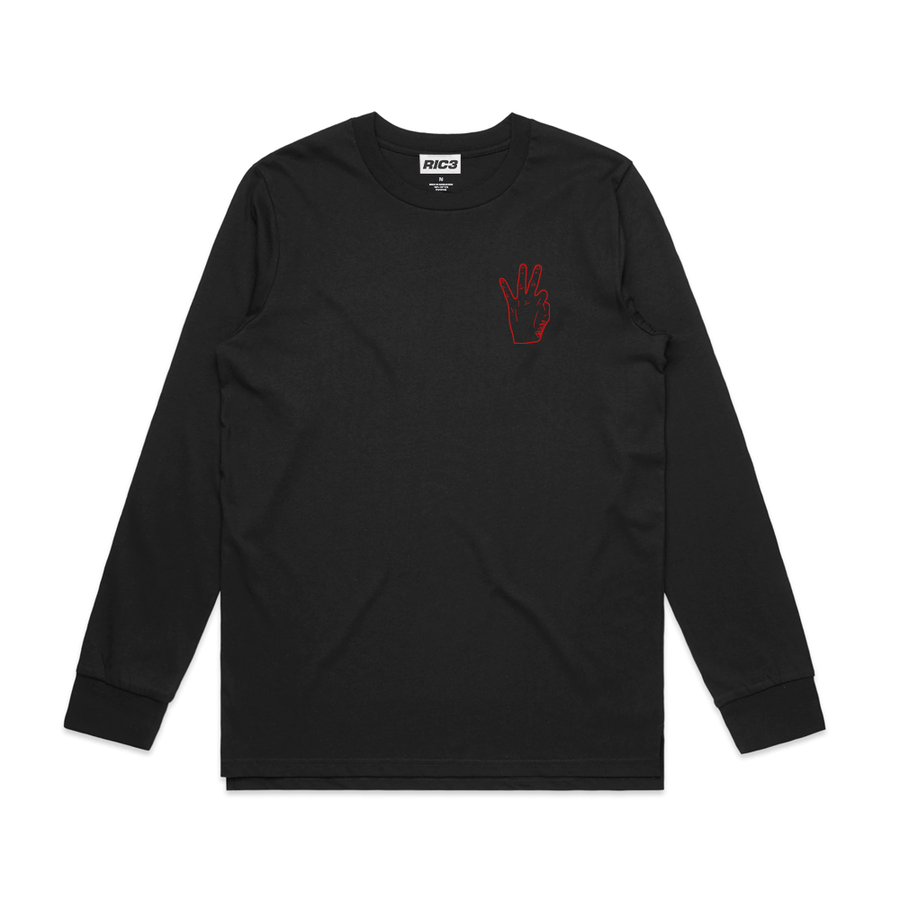 RIC3 Thank You Long Sleeve (Black)
