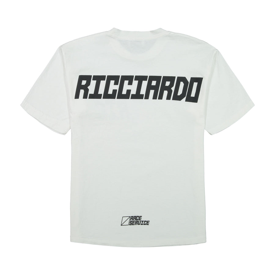 Race Service x DR White Tee