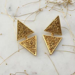 Cone Mesh Earrings