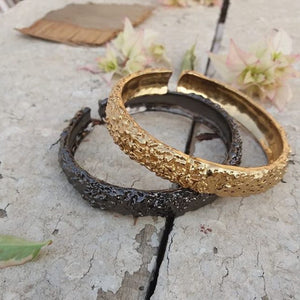 Set of 2 Lava Bangles
