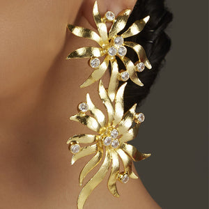 Statement CZ Earrings
