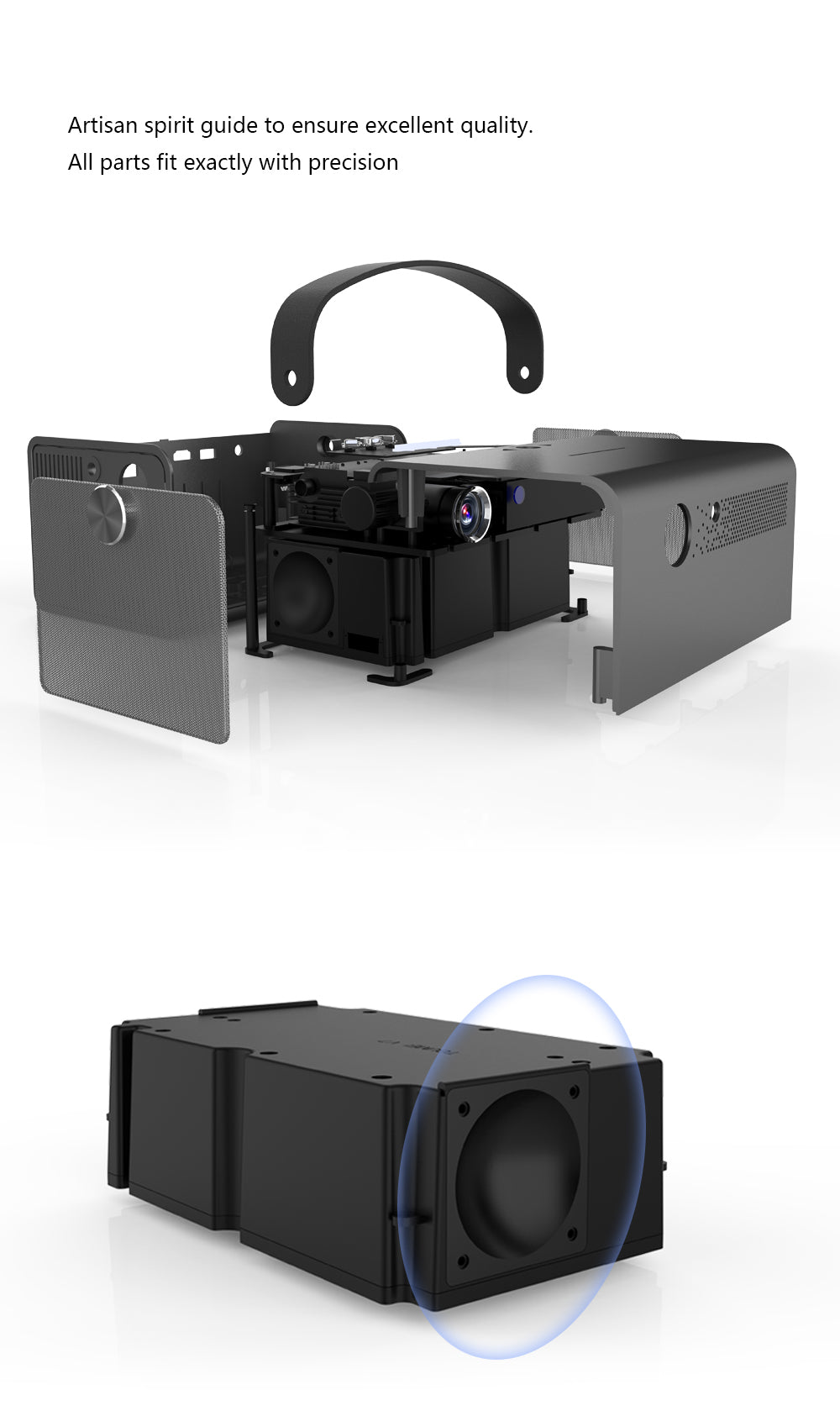 Toumei V7 HD Projector Features 03