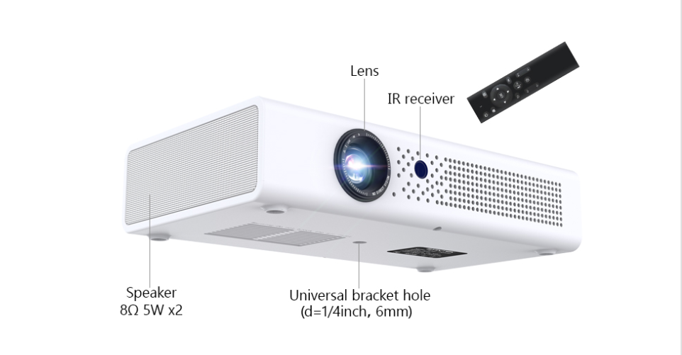 Toumei V6 3D Home Theater Projector Features 08