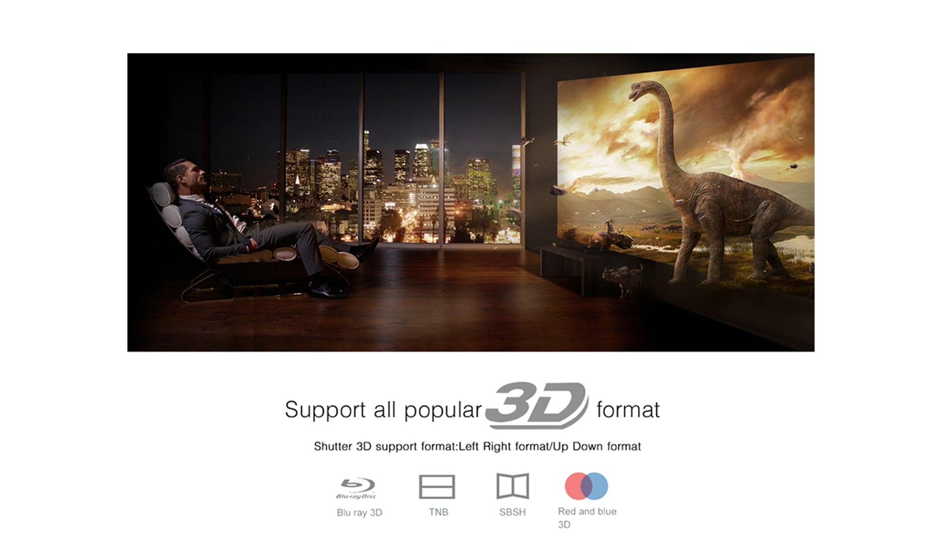 Toumei V5 3D Projector Features 02
