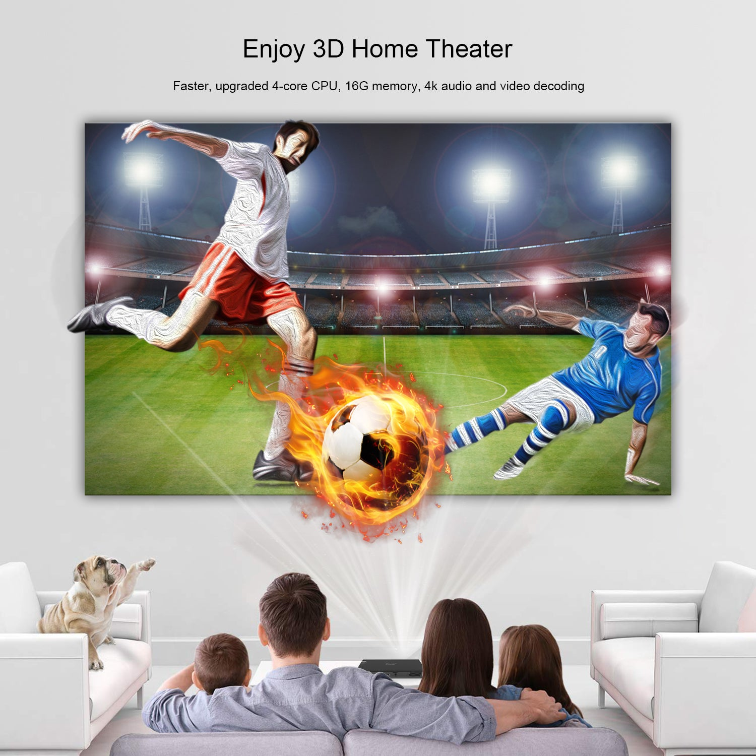 Toumei T5 Short Throw Projector Features 03