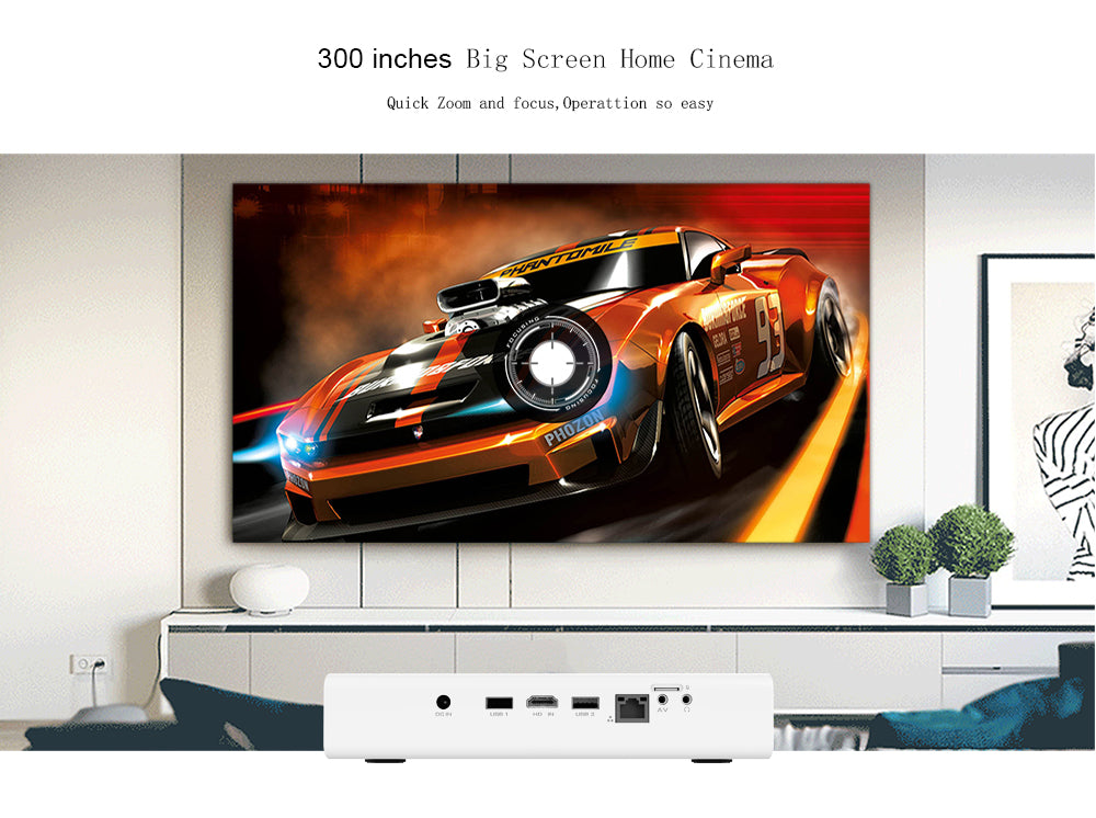 Toumei V6 HD Projector Features 03