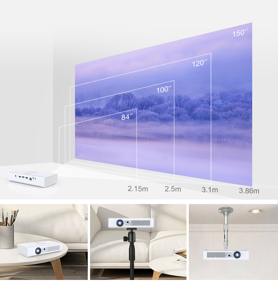 Toumei V6 3D 1080P Projector Features 10