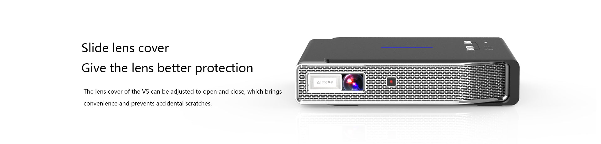 Toumei V5 Portable Projector Features 08