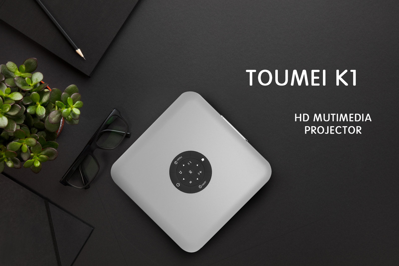 Toumei K1 Smart HD Projector Features 01