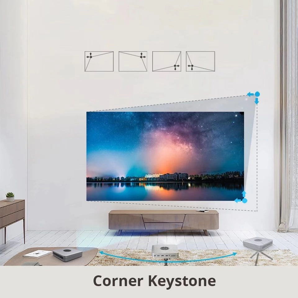 Toumei K1 Smart Short Throw Projector Features 05