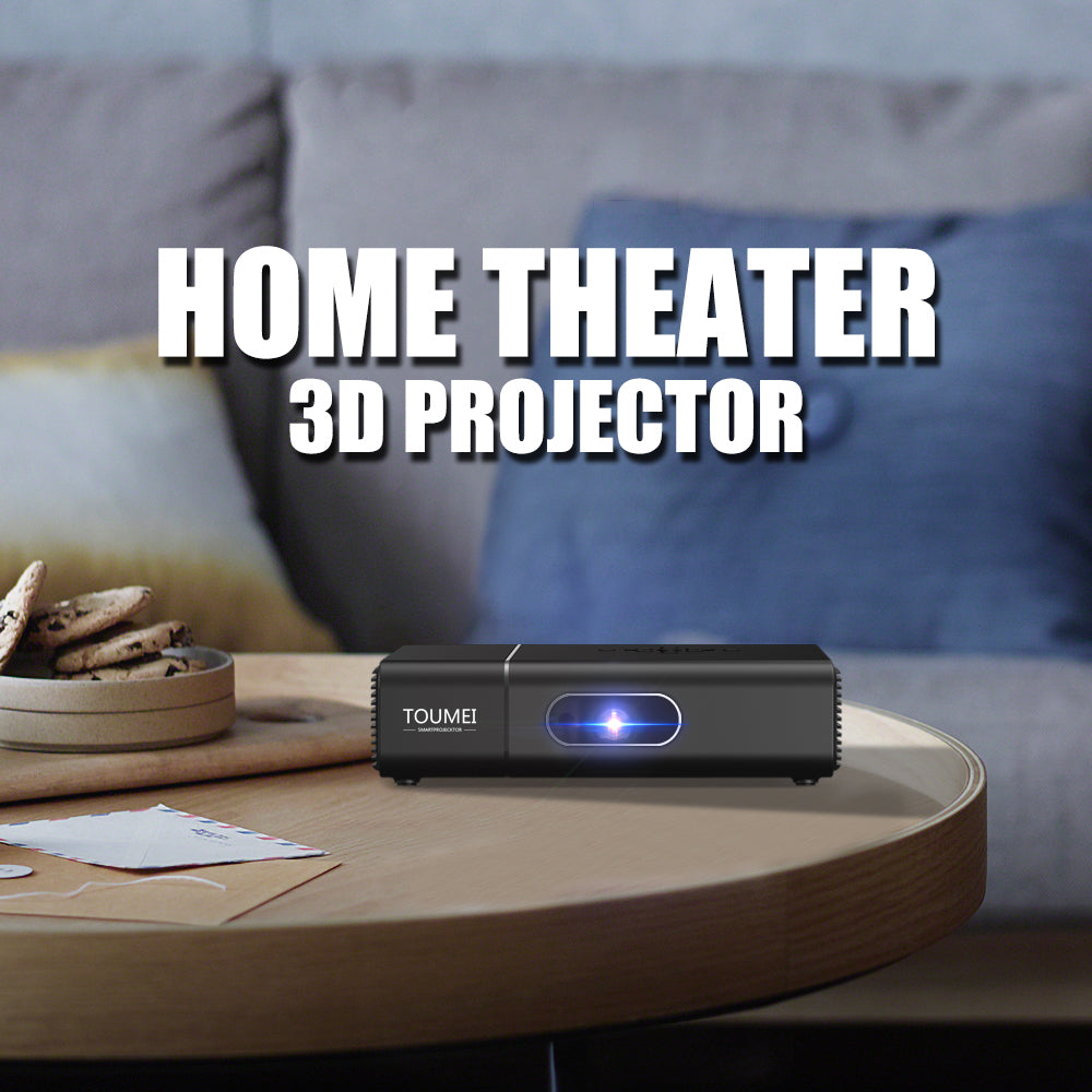 Toumei Home Theater 3D Projector Details 01