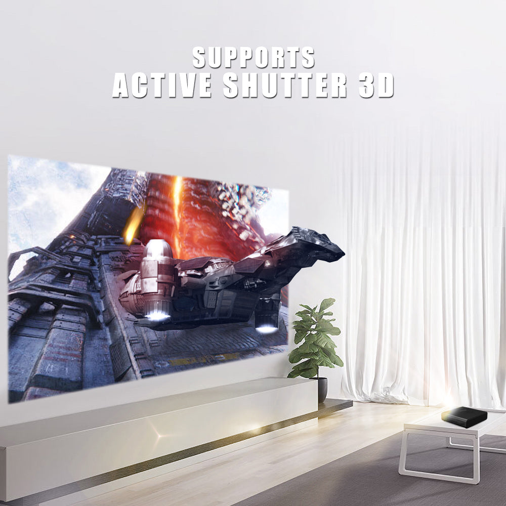 Toumei K2 Home Theater Short Throw 3D Projector Details 05