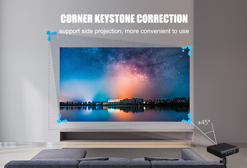 Toumei K2 Home Theater 4K Short Throw 3D Projector Details 08