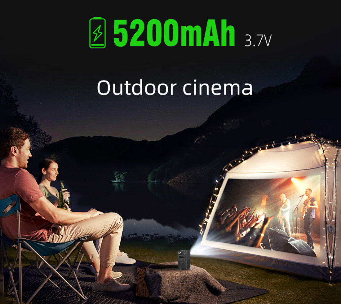 Toumei C900 Portable Smart Mini Projector Details 20