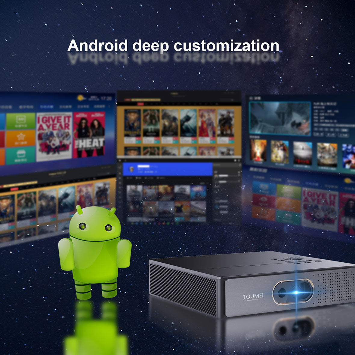 K9 Smart DLP Android Projector Details 06