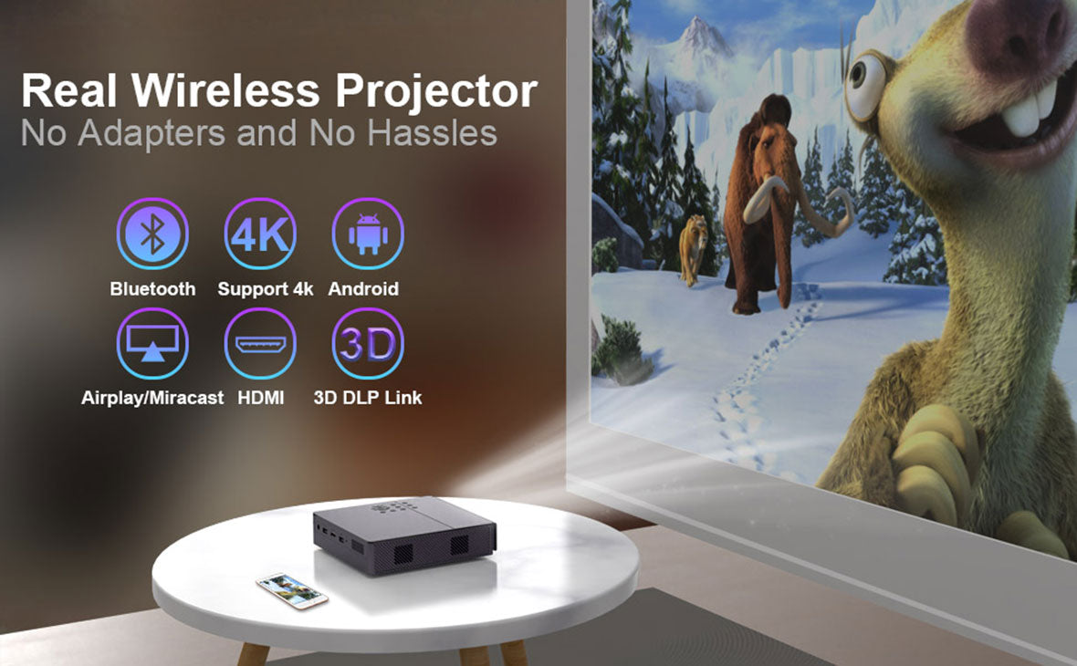 K9 Smart DLP Portable Projector Details 08
