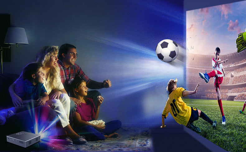 Toumei S9 1080P Portable Mini Projector Details 01