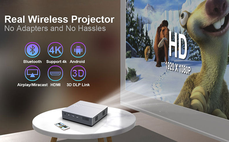 Toumei S9 3D Home Theater Mini Projector Details 05