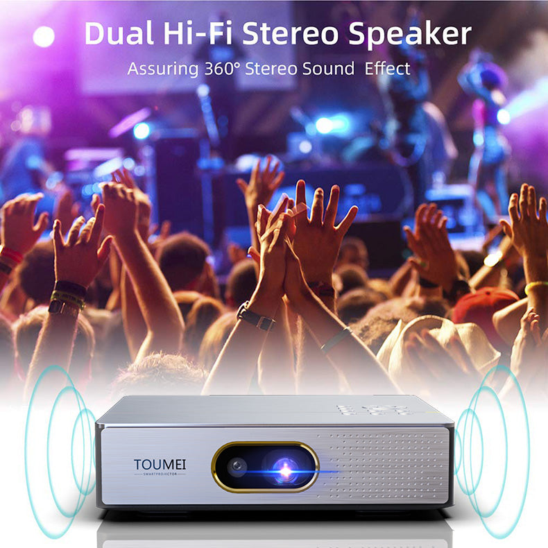 Toumei S9 Home Theater Mini Projector Details 09