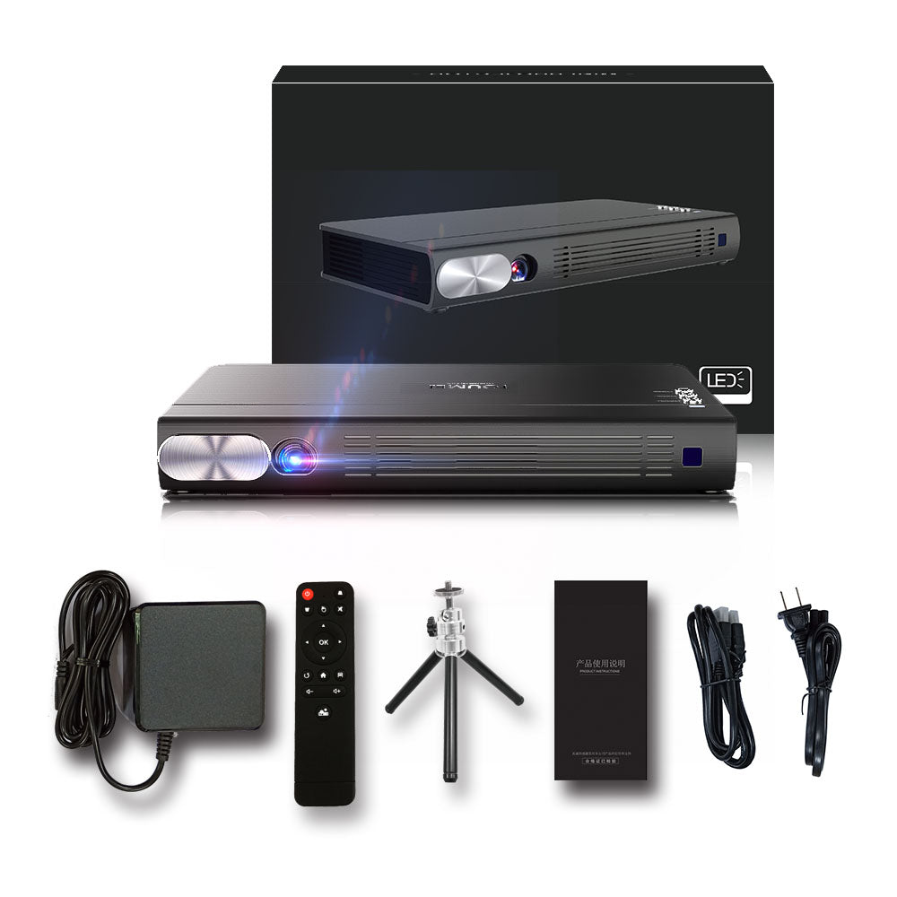 Toumei T6 3D HD Portable Projector Package List