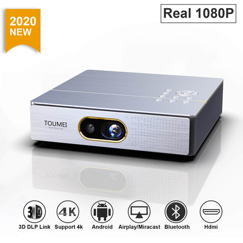 Toumei S9 1080P Smart 3D Mini Projector 01