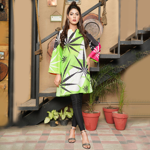 GREEN EMBROIDERED TWO PIECE SUIT (SSP2001SU51)