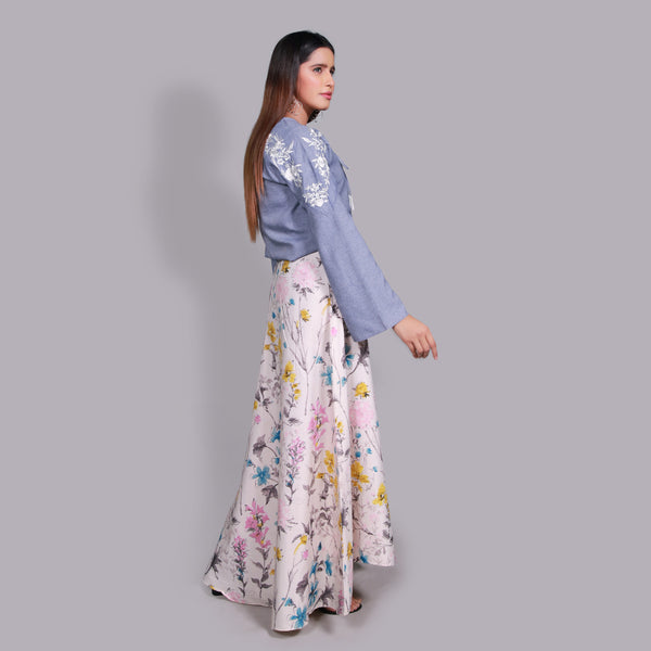 DIGITAL PRINTED SKIRT (SSP2103SK41)